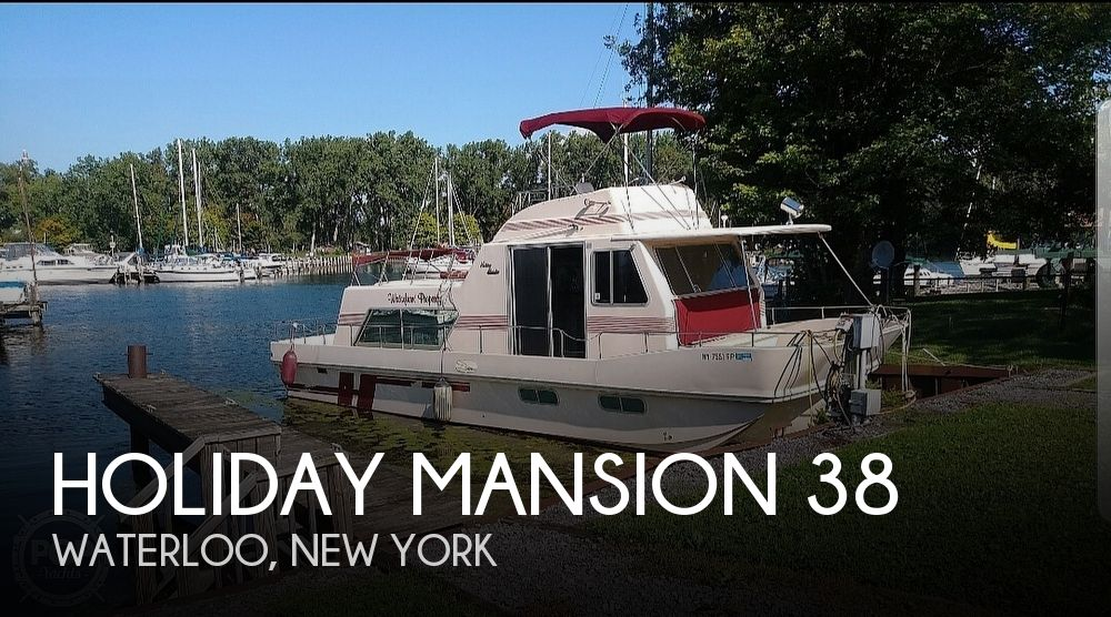 Used Houseboats For Sale in New York by owner | 1989 Holiday Mansion 38
