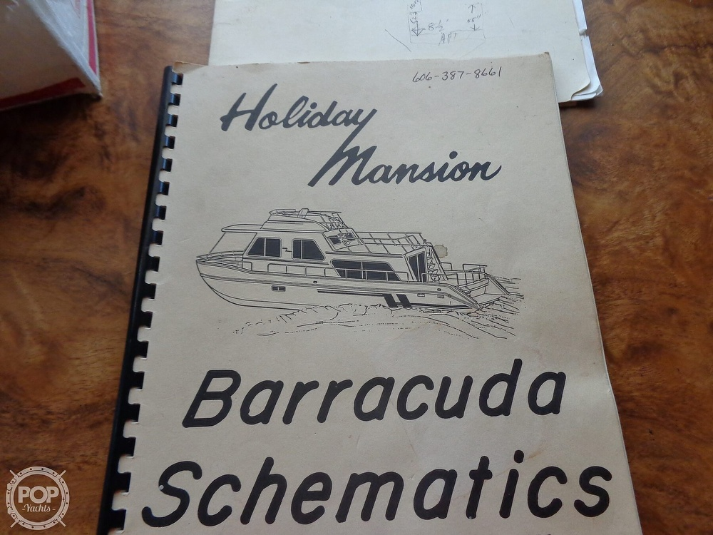 1989 Holiday Mansion boat for sale, model of the boat is Baracuda 38 & Image # 15 of 40