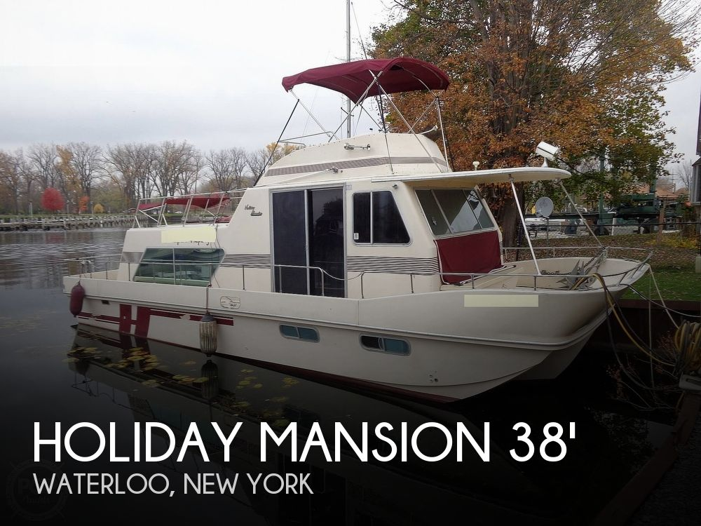 1989 Holiday Mansion boat for sale, model of the boat is Baracuda 38 & Image # 1 of 40