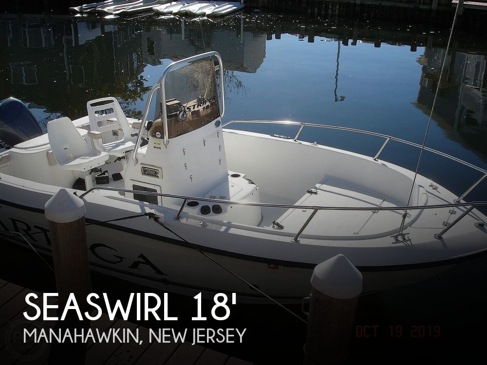 2005 Seaswirl boat for sale, model of the boat is 1851 Striper & Image # 1 of 41