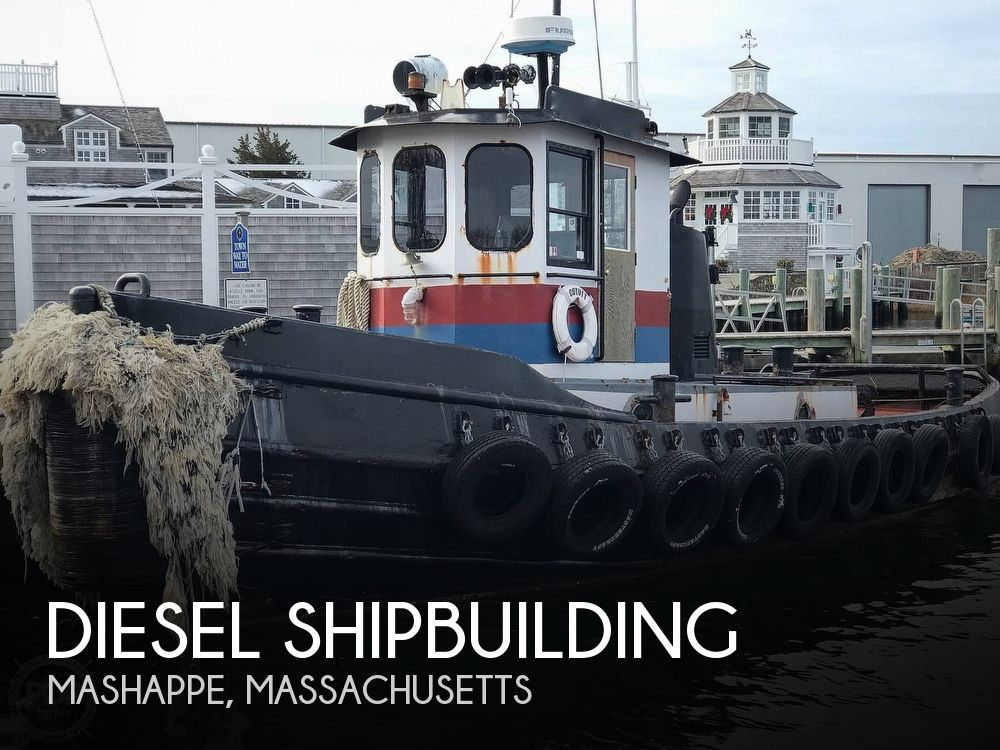 1963 Diesel Shipbuilding boat for sale, model of the boat is 44 & Image # 1 of 40