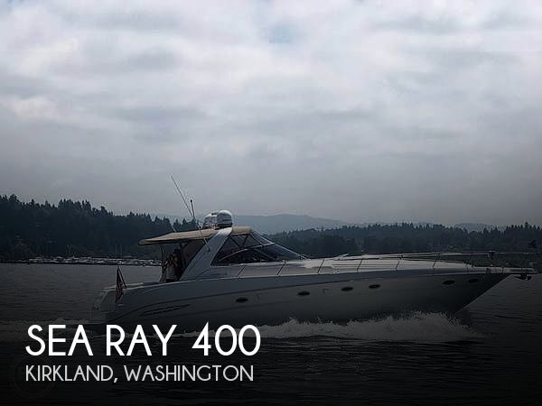 Used Boats For Sale in Olympia, Washington by owner | 1999 Sea Ray 400