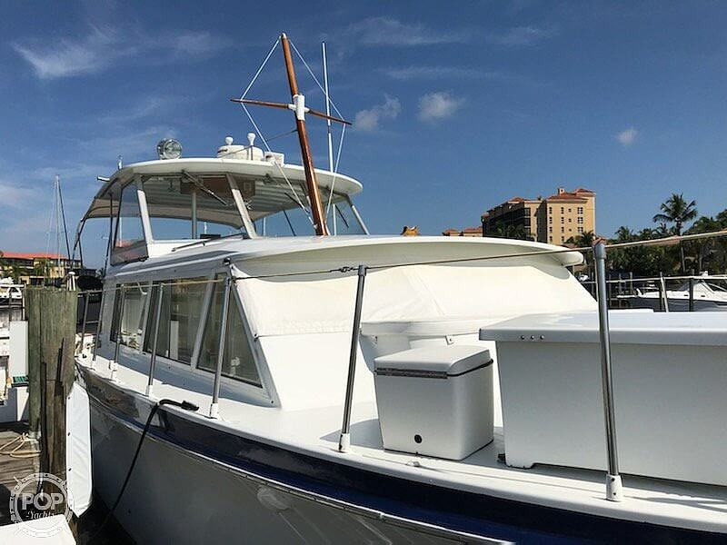 1969 Hatteras boat for sale, model of the boat is 41 TC & Image # 8 of 40