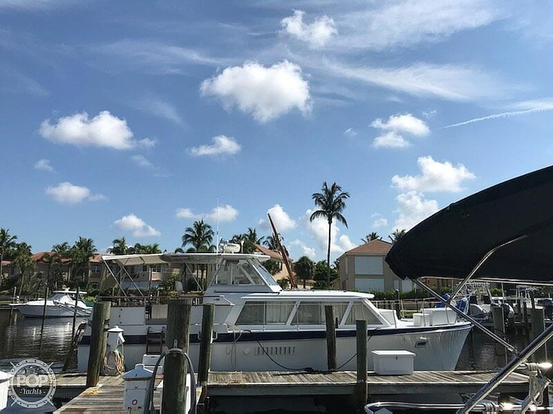 1969 Hatteras boat for sale, model of the boat is 41 TC & Image # 10 of 40