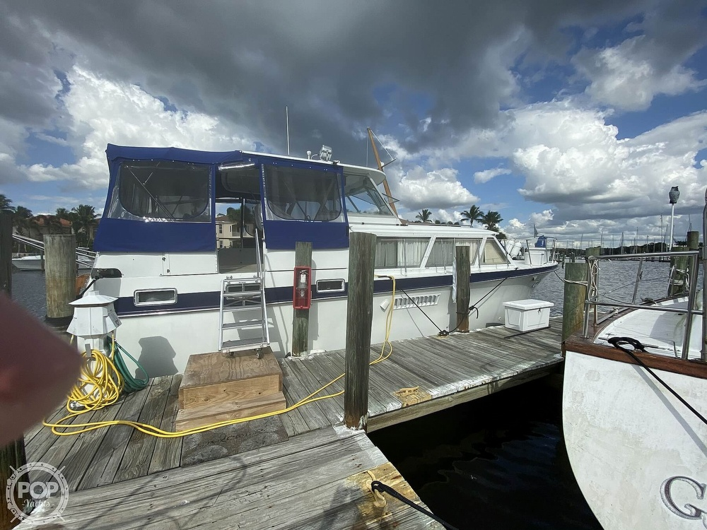 1969 Hatteras boat for sale, model of the boat is 41 TC & Image # 2 of 40