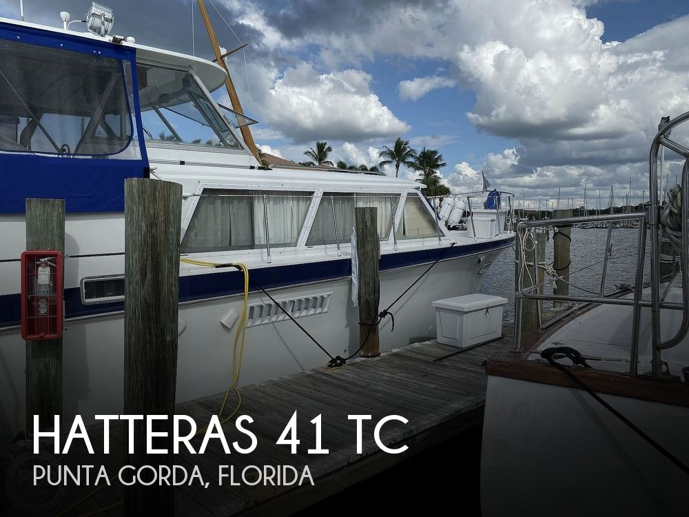 1969 HATTERAS 41 TC for sale