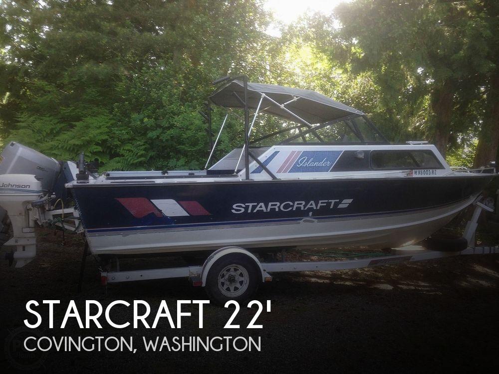 Used Starcraft Boats For Sale in Washington by owner | 1988 Starcraft Islander 221V
