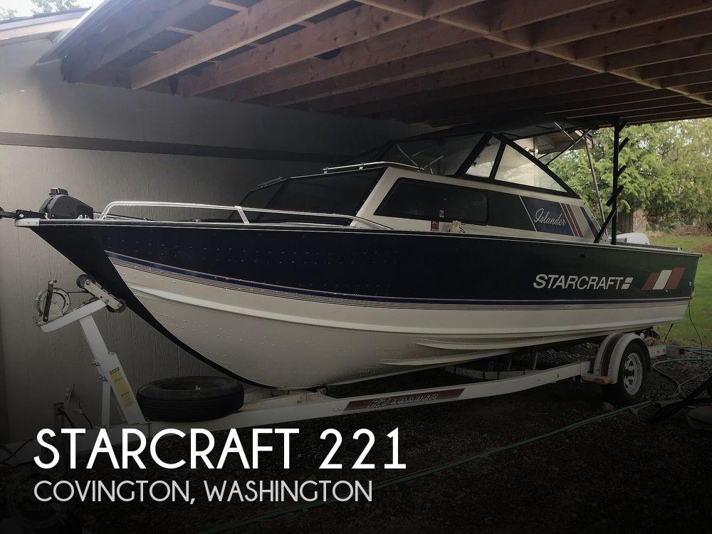1988 Starcraft boat for sale, model of the boat is Islander 221V & Image # 1 of 40