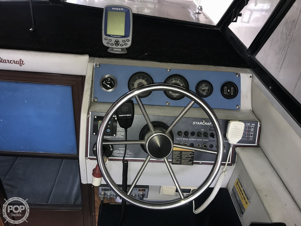 1988 Starcraft boat for sale, model of the boat is Islander 221V & Image # 38 of 40