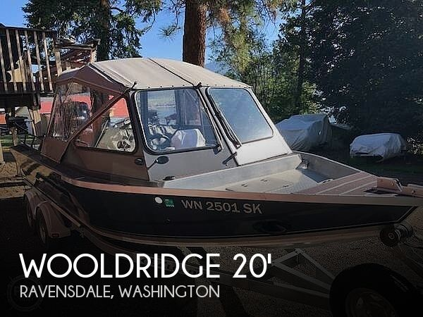 Used Ski Boats For Sale in Washington by owner | 2016 20 foot Wooldridge Super Sport Drifter