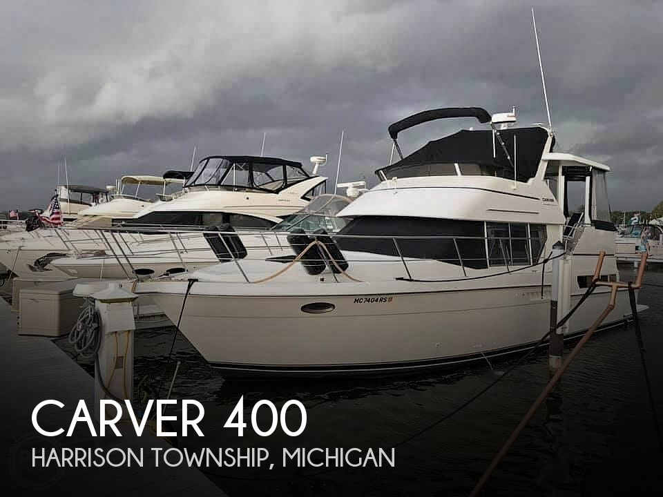 Used Boats For Sale in Saginaw, Michigan by owner | 1998 Carver 400