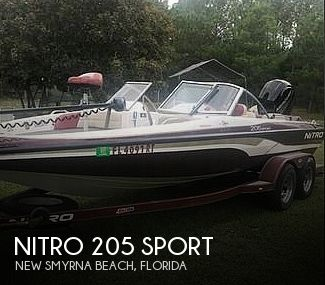 Used NITRO Fishing boats For Sale by owner | 2000 Nitro 205 Sport