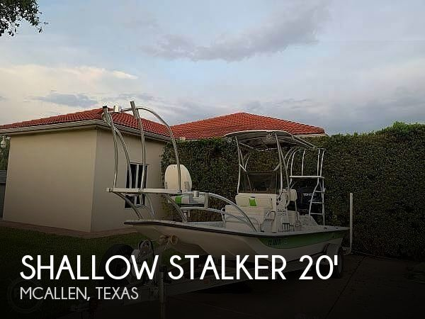Used Boats For Sale in McAllen, Texas by owner | 2012 Shallow Stalker 20