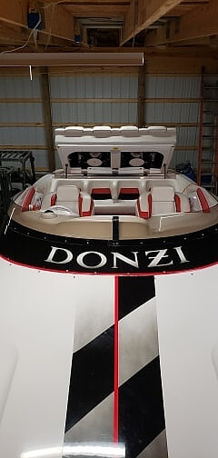 1999 Donzi boat for sale, model of the boat is 38 ZX & Image # 41 of 41