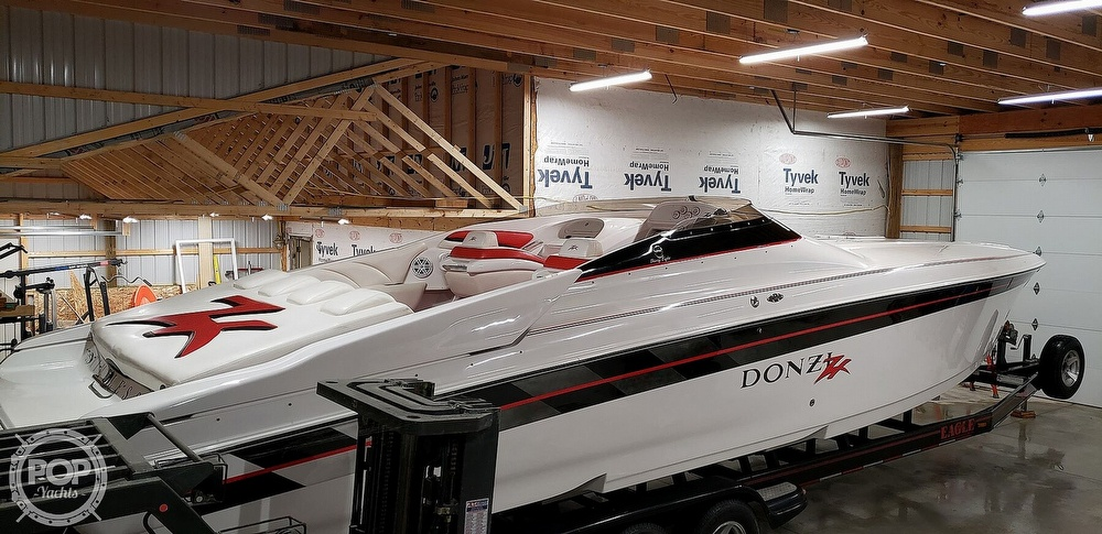 1999 Donzi boat for sale, model of the boat is 38 ZX & Image # 34 of 41