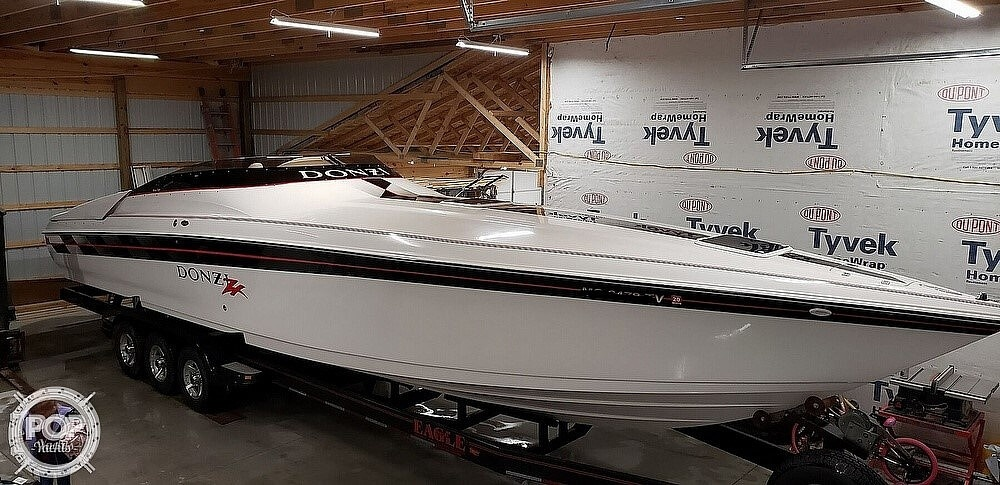 1999 Donzi boat for sale, model of the boat is 38 ZX & Image # 38 of 41