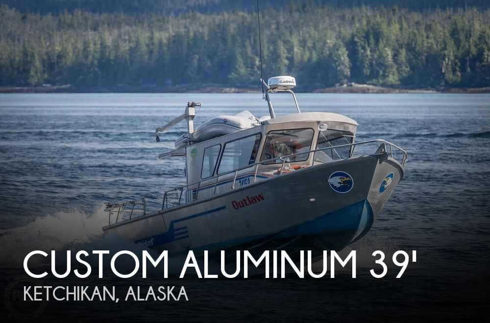 Used Boats For Sale in Alaska by owner | 2004 39 foot Custom Aluminum Sportfisher - Builder Edwing
