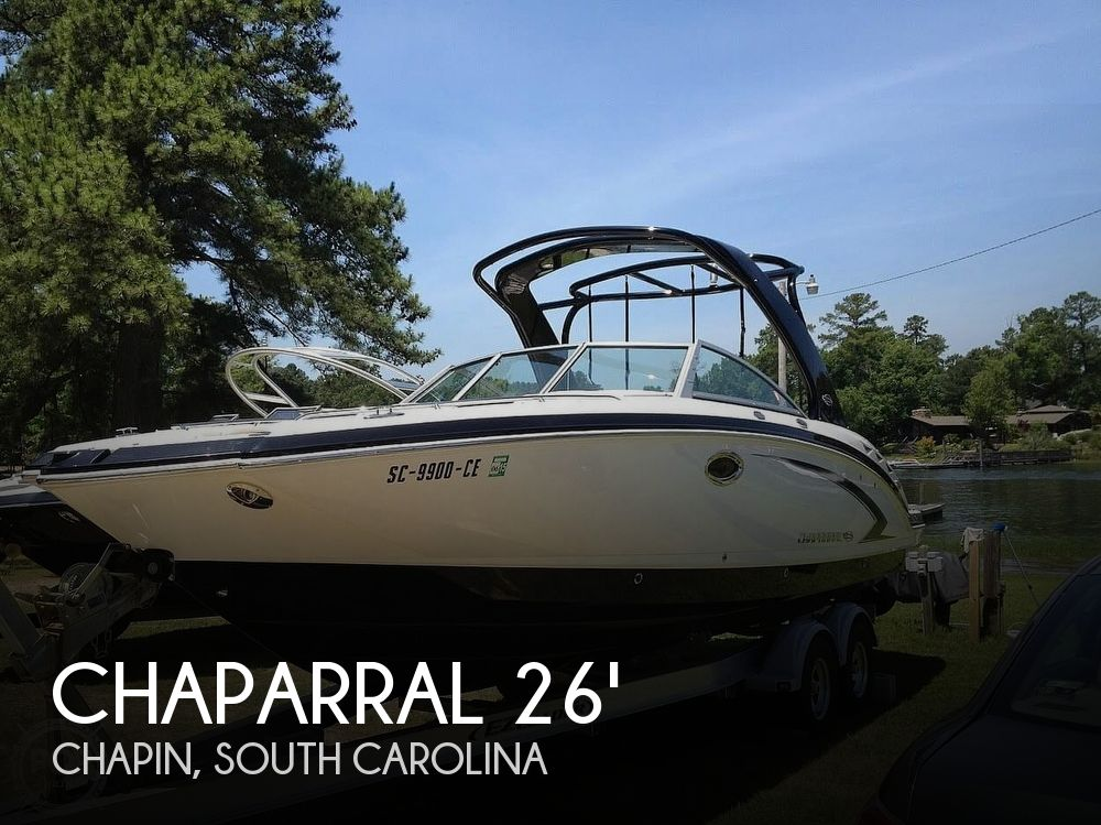 Used Chaparral 26 Boats For Sale by owner | 2012 Chaparral Sunesta 264