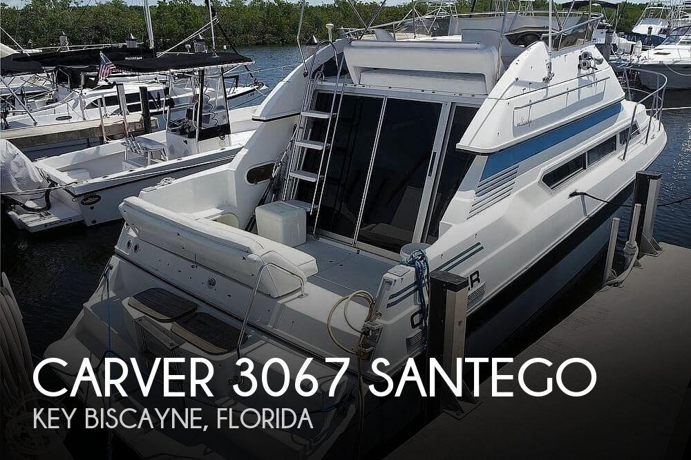 Used Carver 3067 SANTEGO Boats For Sale by owner | 1988 Carver 3067 SANTEGO