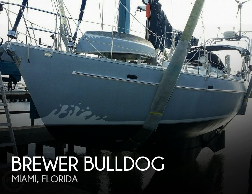 1988 Brewer boat for sale, model of the boat is Bulldog & Image # 1 of 41