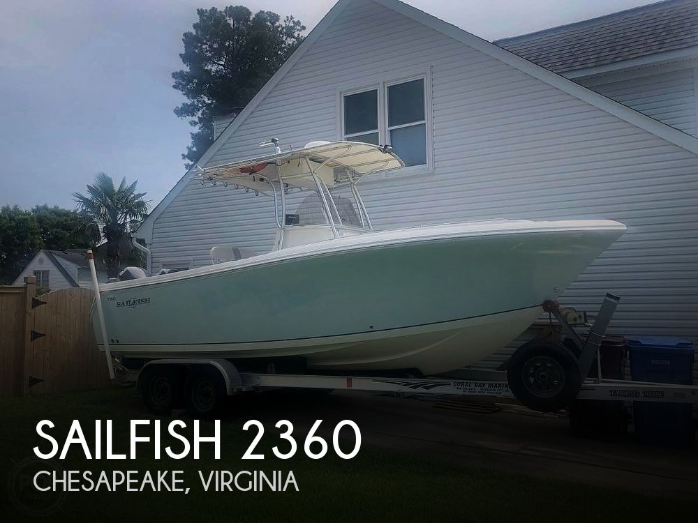 Used Sailfish Boats For Sale by owner | 2006 Sailfish 2360