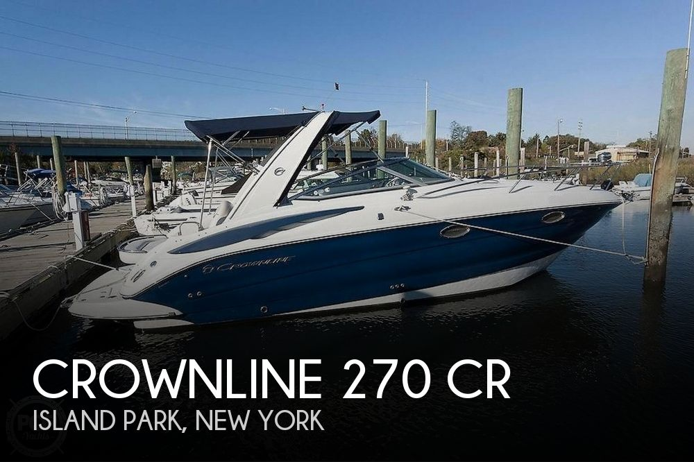 2008 Crownline boat for sale, model of the boat is 270 CR & Image # 1 of 14