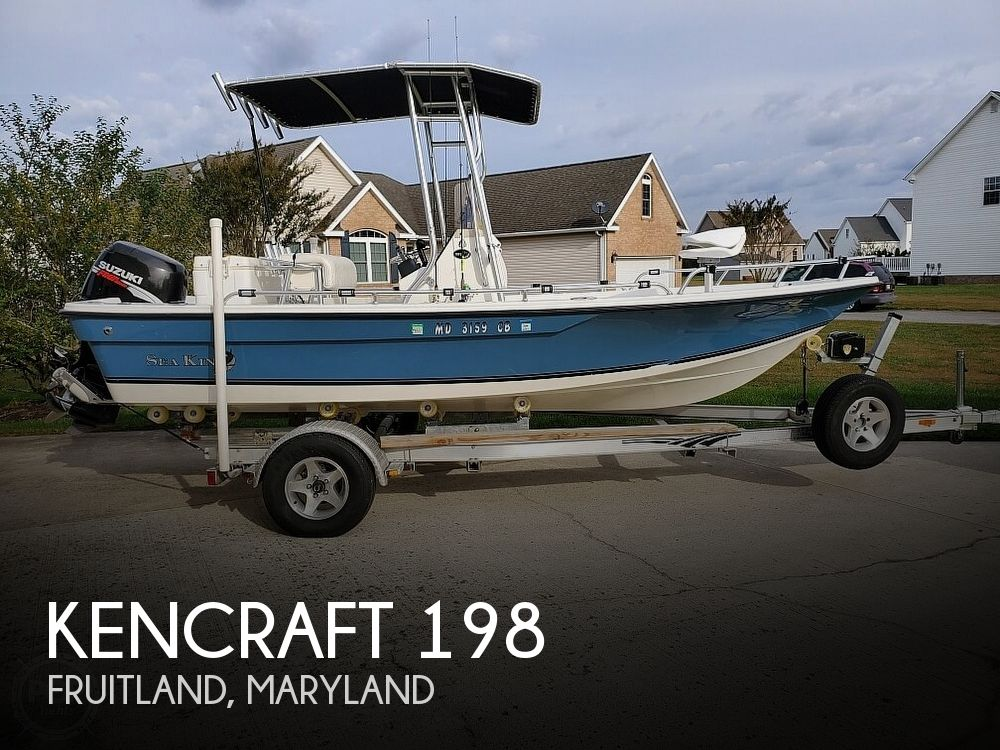Used Kencraft Boats For Sale by owner | 2008 Kencraft 198B Sea King