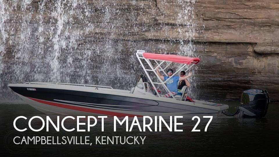 Used Boats For Sale in Lexington, Kentucky by owner | 2000 Concept Marine 27