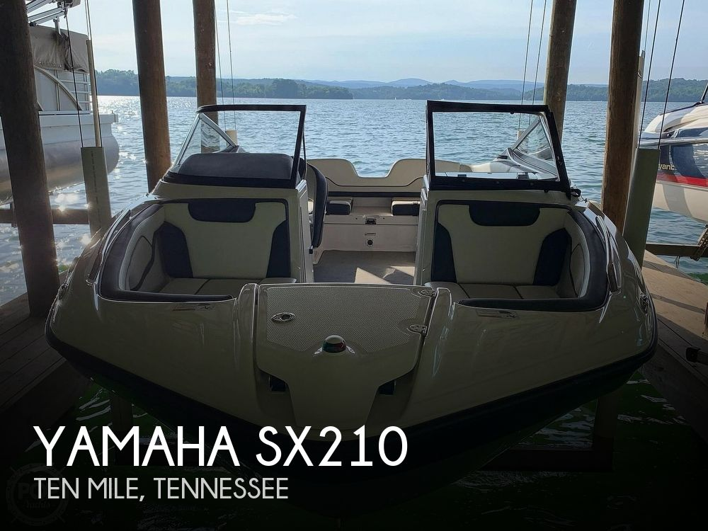 Used Yamaha Ski Boats For Sale in Tennessee by owner | 2017 Yamaha SX210