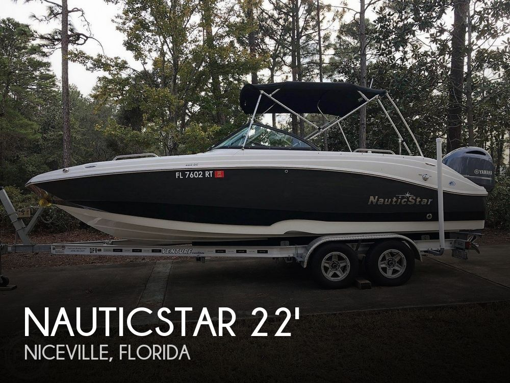 Used NauticStar Deck Boats For Sale in Florida by owner | 2018 NauticStar 22