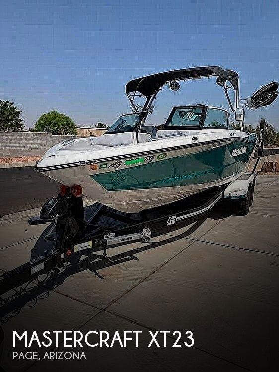 2017 Mastercraft boat for sale, model of the boat is XT23 & Image # 1 of 4