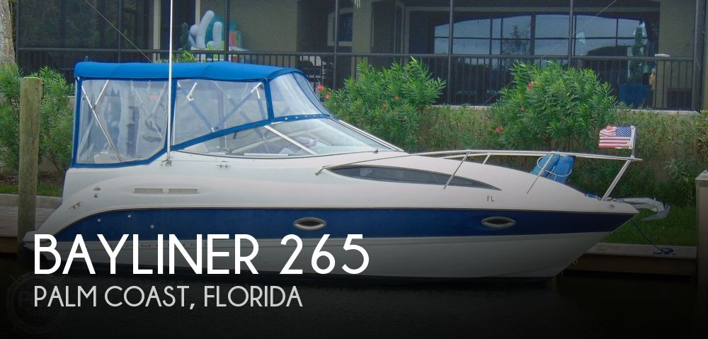 2004 Bayliner boat for sale, model of the boat is 265 Cruiser & Image # 1 of 40