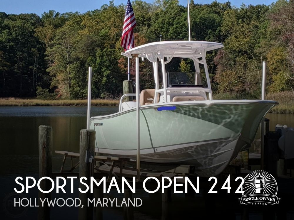 Used Boats For Sale in Richmond, Virginia by owner | 2019 Sportsman Open 242