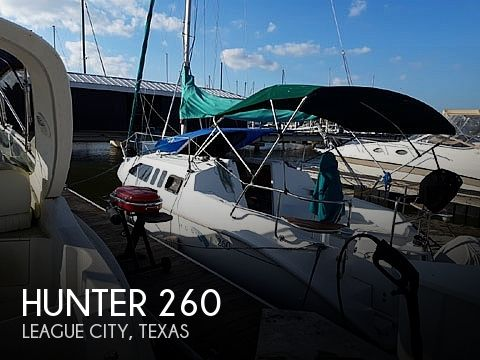 Used Hunter Sailboats For Sale by owner | 2001 Hunter 260