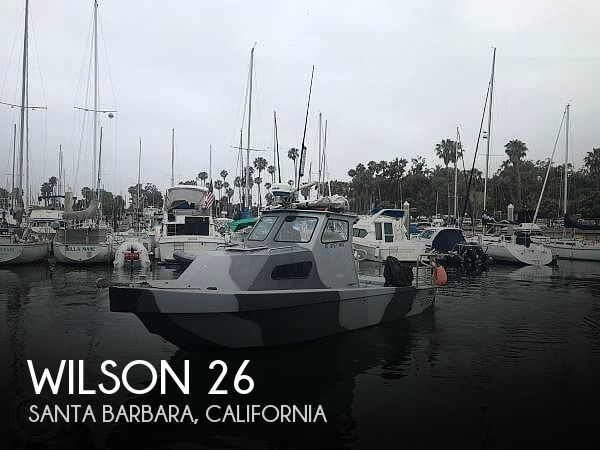 Used Boats For Sale in Santa Maria, California by owner | 1982 Wilson 26
