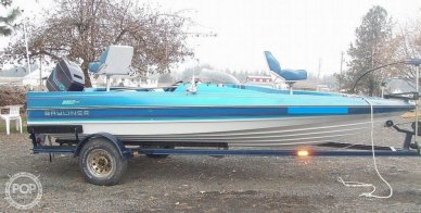 1988 Bayliner Bass Trophy 1810 Fish & Ski