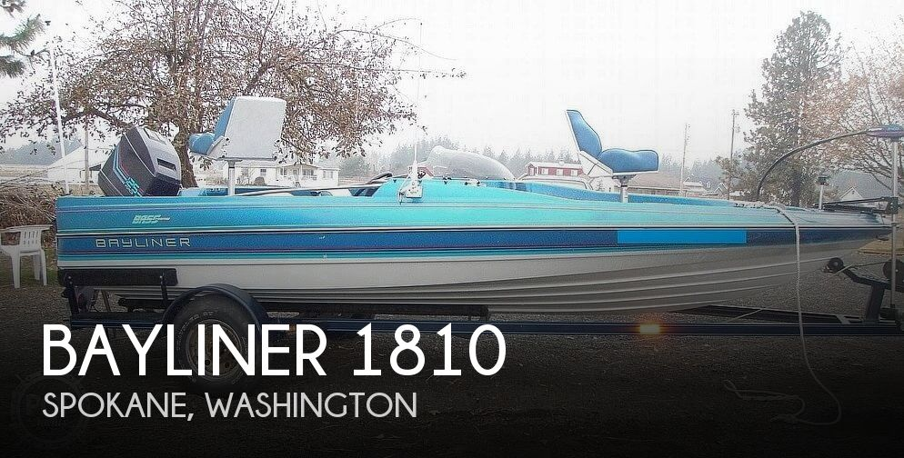 1988 BAYLINER BASS TROPHY 1810 FISH & SKI for sale