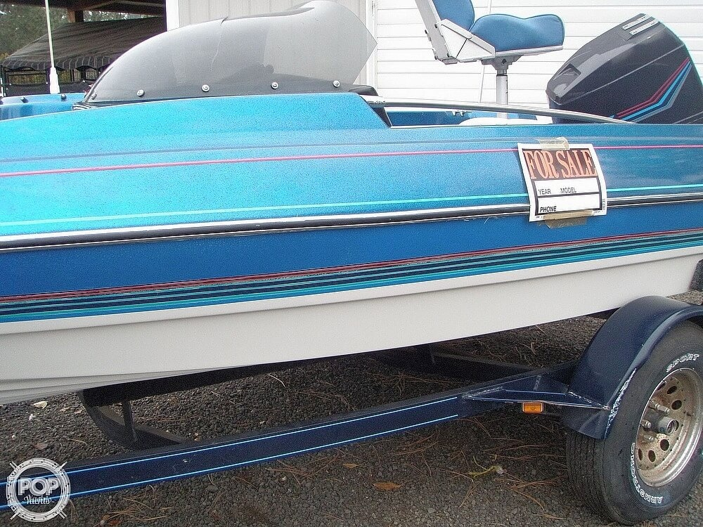 1988 Bayliner boat for sale, model of the boat is Bass Trophy 1810 Fish & Ski & Image # 9 of 41