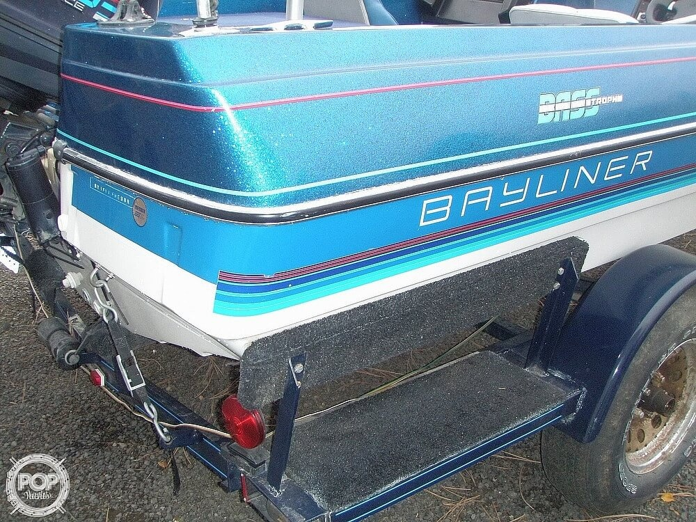 1988 Bayliner boat for sale, model of the boat is Bass Trophy 1810 Fish & Ski & Image # 13 of 41