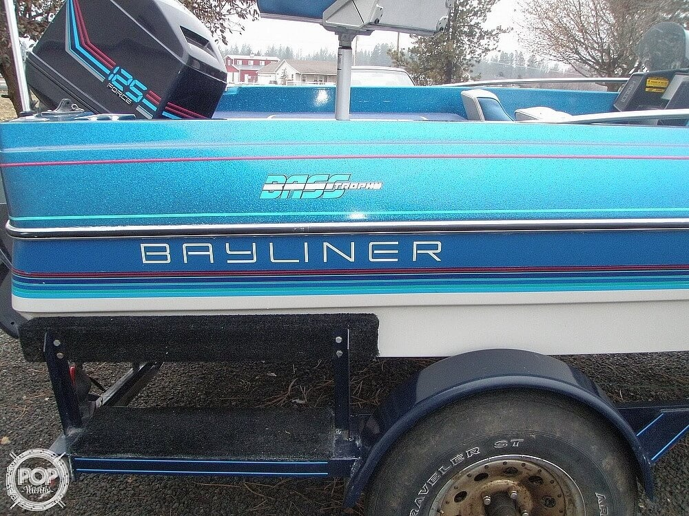 1988 Bayliner boat for sale, model of the boat is Bass Trophy 1810 Fish & Ski & Image # 17 of 41