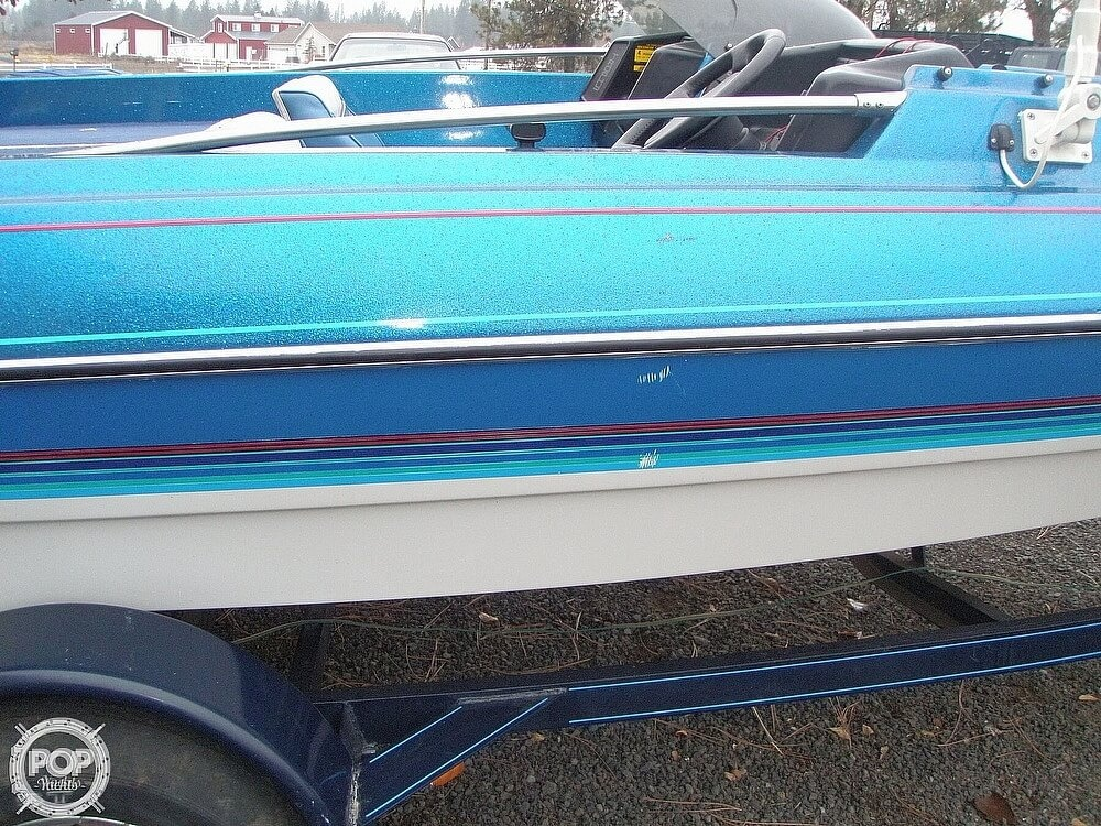 1988 Bayliner boat for sale, model of the boat is Bass Trophy 1810 Fish & Ski & Image # 18 of 41