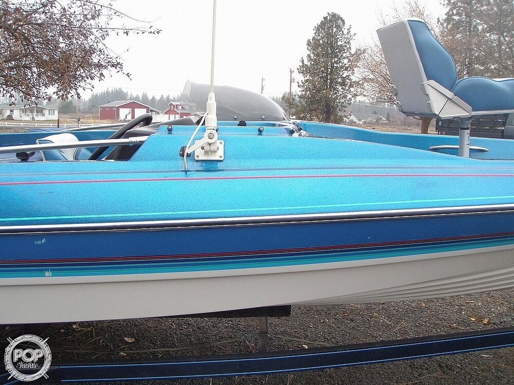 1988 Bayliner boat for sale, model of the boat is Bass Trophy 1810 Fish & Ski & Image # 19 of 41