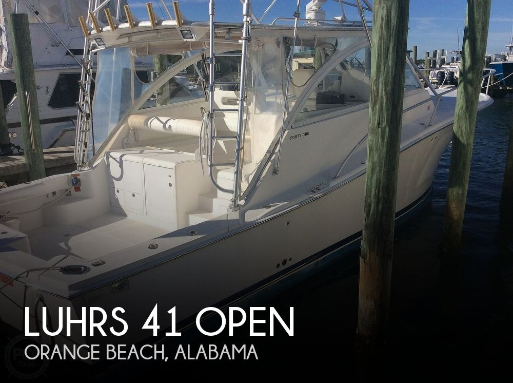 2007 Luhrs boat for sale, model of the boat is 41 Open & Image # 1 of 40
