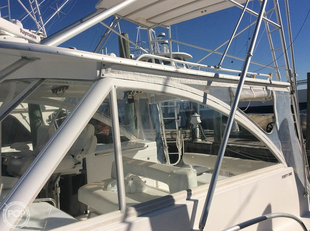 2007 Luhrs boat for sale, model of the boat is 41 Open & Image # 11 of 40