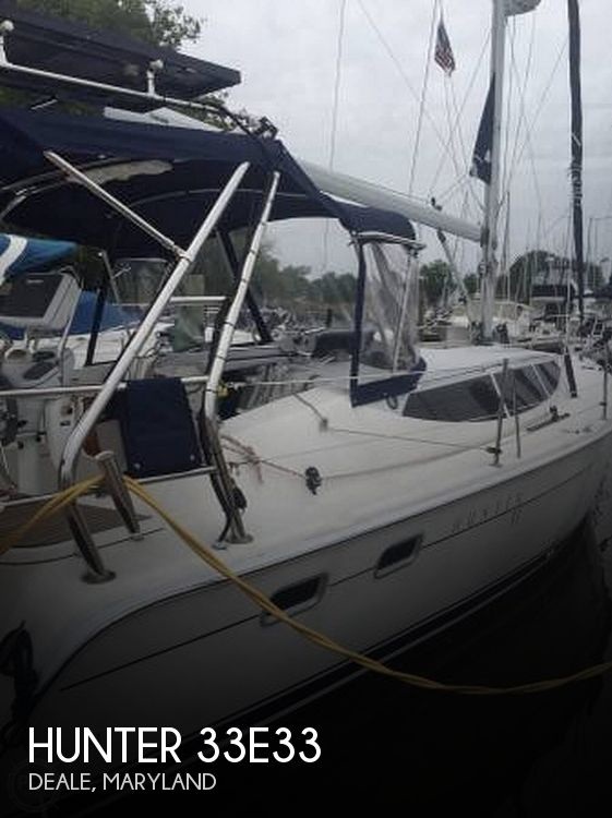 Used Hunter Sailboats For Sale by owner | 2012 Hunter 33E33