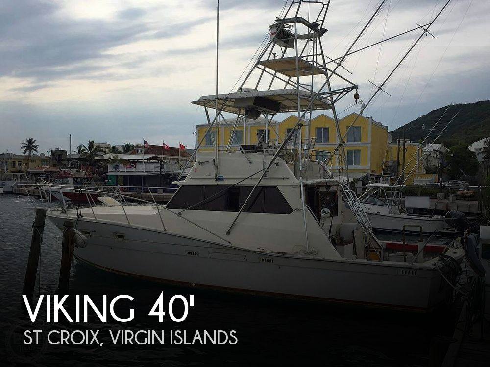 Used Viking Boats For Sale by owner | 1981 Viking 40 Fly Bridge Sport Fisherman