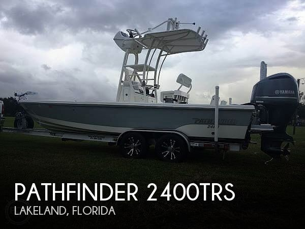 Used Pathfinder Boats For Sale by owner | 2016 Pathfinder 2400