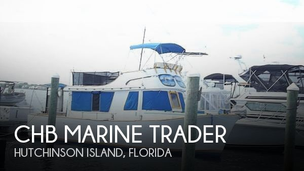Used CHB Boats For Sale in Florida by owner | 1974 34 foot CHB Marine Trader