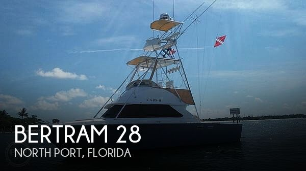 Used BERTRAM Fishing boats For Sale by owner | 1977 Bertram 28