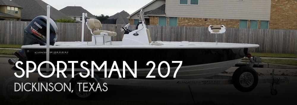 2018 SPORTSMAN BOATS 207 for sale